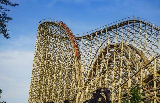 El Toro, Six Flags Great Adventure & Safari, Jackson, Nova Jersey, EUA