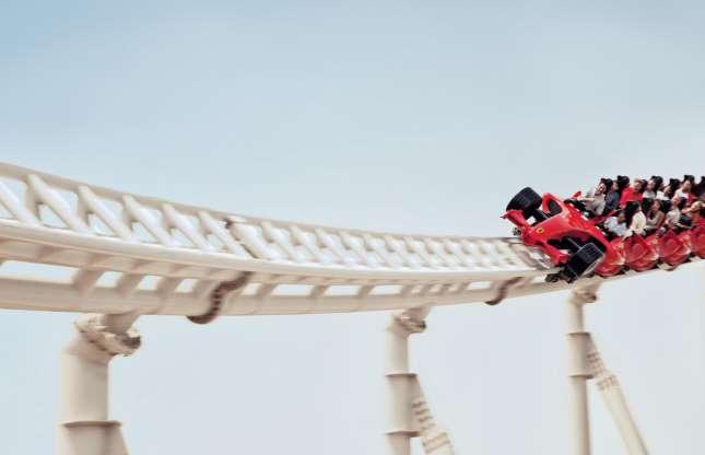 Formula Rossa, Ferrari World Abu Dhabi, Abu Dhabi, Emirados Árabes Unidos