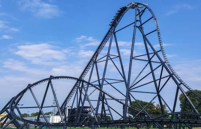Hyperion Mega Coaster, Energylandia Amusement Park, Polônia