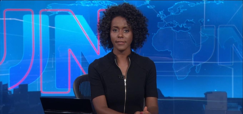 Maria Júlia Coutinho entrou para a história como a primeira mulher negra a apresentar o JN