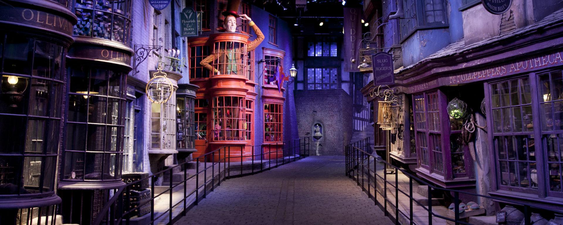 Making Of Harry Potter Tour - London