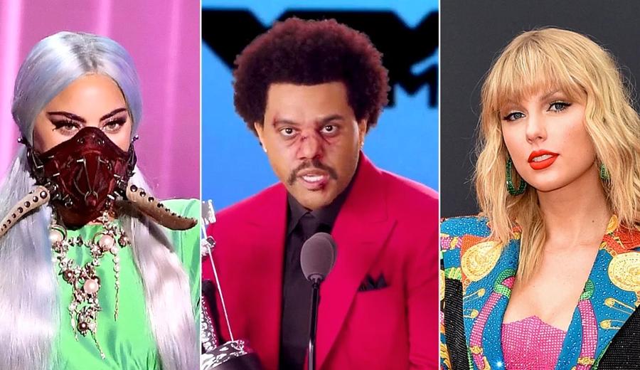 Lady Gaga, The Weeknd e Taylor Swift: confira a lista de ...